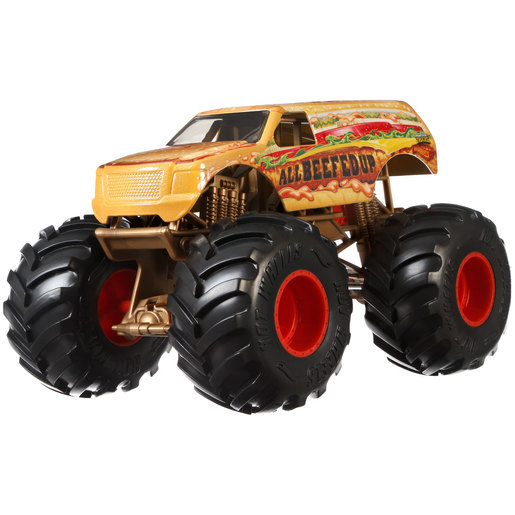 Hot Wheels Monster Trucks Vehicle - All Beefed Up
