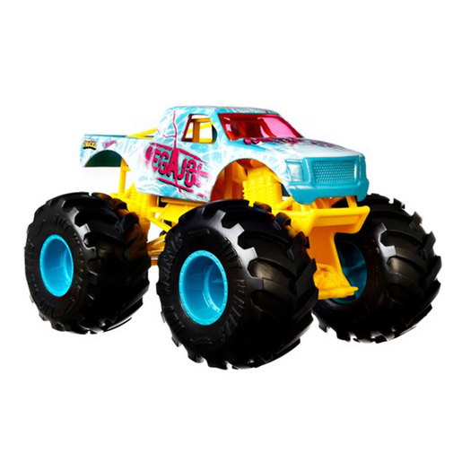 Hot Wheels Monster Trucks - MegaJolt from TheToyShop