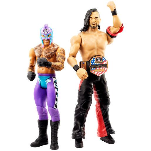 WWE Battle Pack Figures - Shinsuke Makamura vs Rey Mysterio from TheToyShop