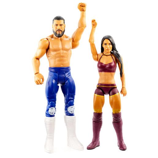 WWE Battle Pack Figures - Andrade and Zelina Vega from TheToyShop