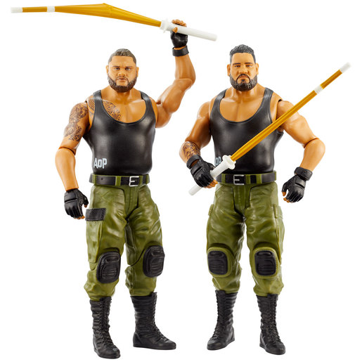 WWE WrestleMania Figures - Rezar and Akam from TheToyShop