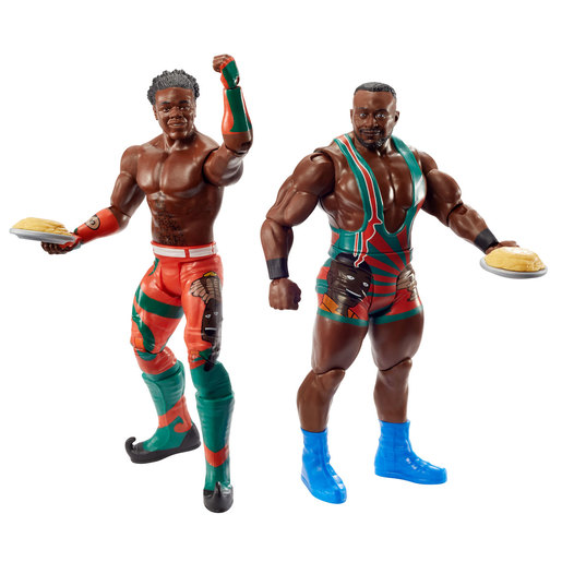 WWE WrestleMania Figures - The New Day
