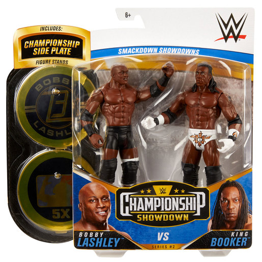 WWE Battle Figures 2 Pack - Bobby Lashley Vs King Booker from TheToyShop