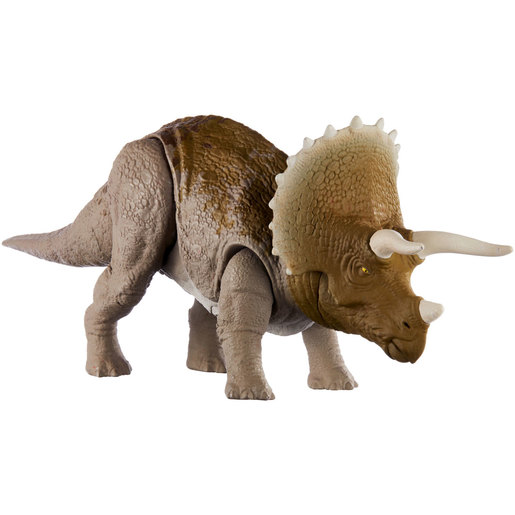 Jurassic World Sound Strike Dinosaur Figure - Triceratops