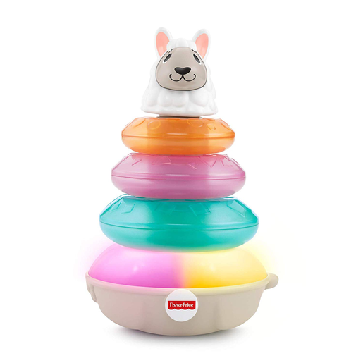 Fisher-Price Linkimals Lights and Colours Llama Stacker
