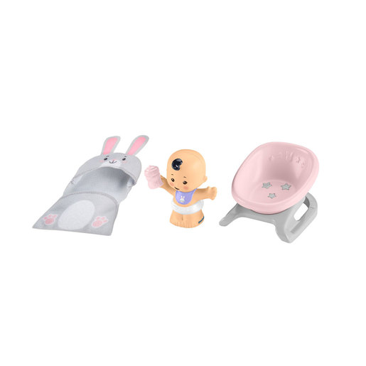 Fisher-Price Little People Bundle 'n Play Figure - Bath Time