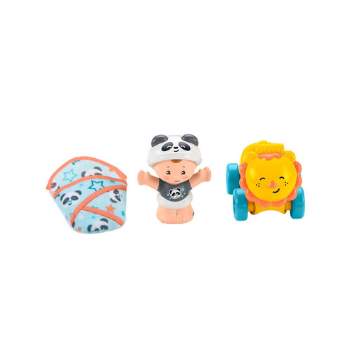 Fisher-Price Little People Bundle 'n Play Figure - Lion Ride-On
