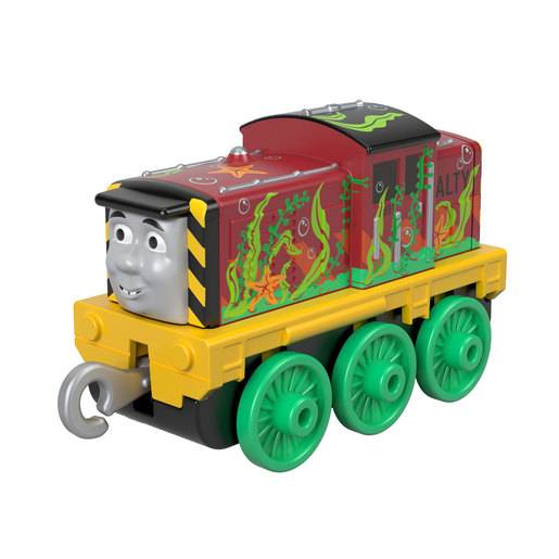 Fisher-Price Thomas & Friends Trackmaster - Push Along Seaweed Sal Train Engine
