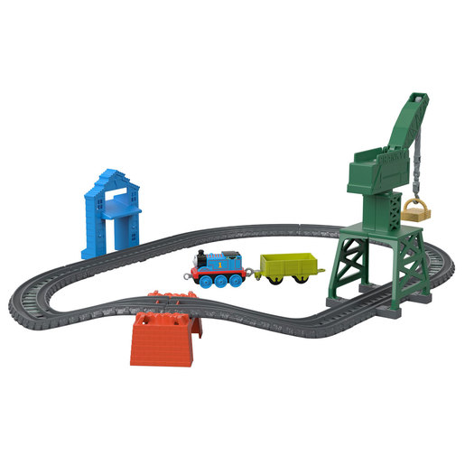 Fisher-Price Thomas & Friends Trackmaster - Brendam Fish Market Train Set