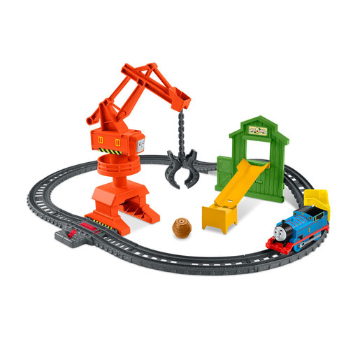 Fisher-Price Thomas & Friends Trackmaster Cassia Crane & Cargo Set from TheToyShop