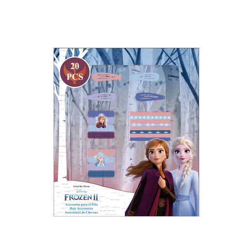 Disney Frozen 2 Hair Accessories Set - 20 Pack