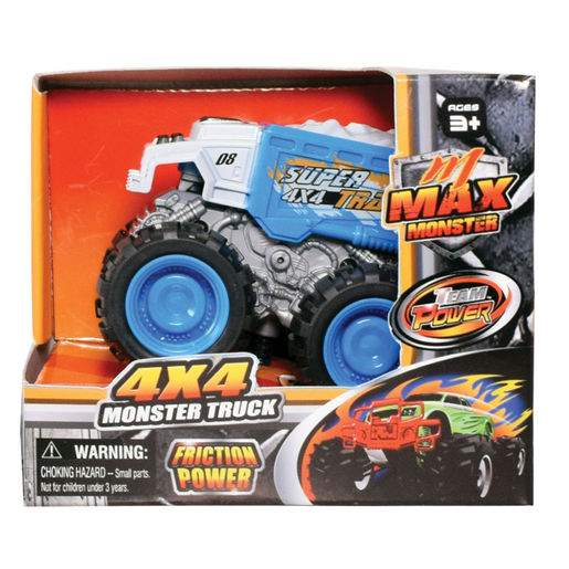 Team Power 9cm Max Monster Truck - Blue