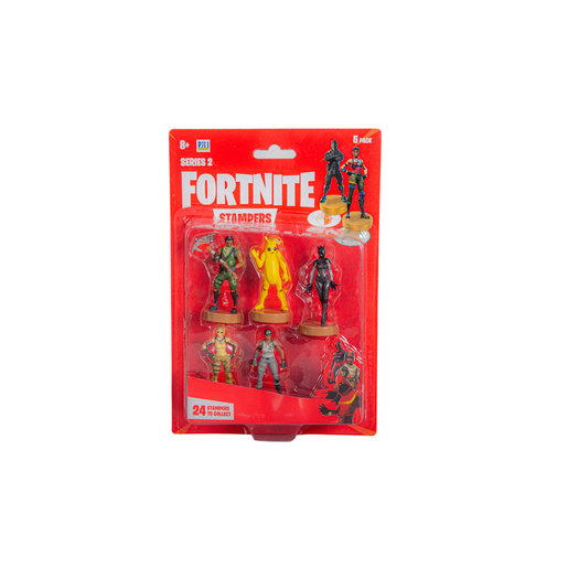 Fortnite Series 2 Stampers 5 Pack (Styles Vary)