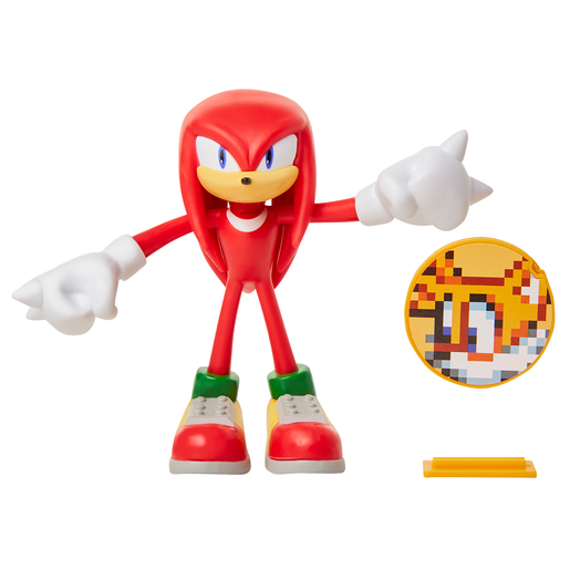 Sonic The Hedgehog Bendable Figure - Knuckles