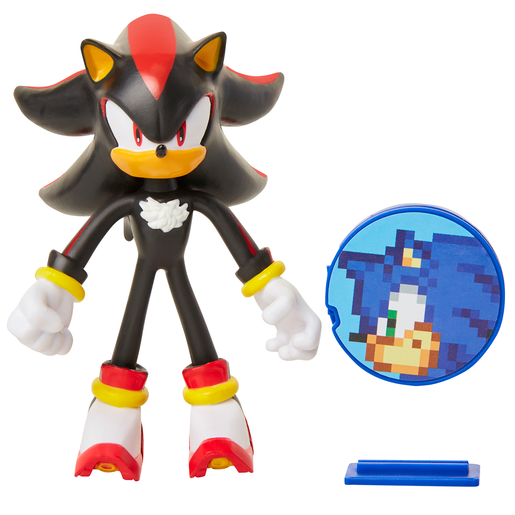 Sonic The Hedgehog Bendable Figure - Shadow