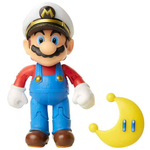 Super Mario Figure - Mario with Yellow Power Moon