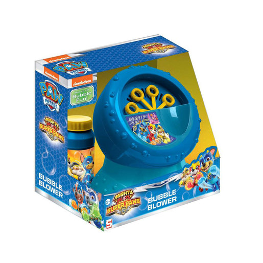 Paw Patrol Mighty Pups Super Paws Bubble Blower