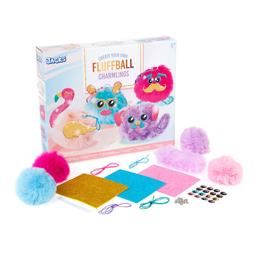 Jacks Create Your Own Fluffball Charmlings