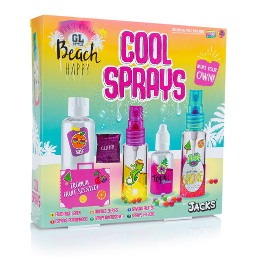 GL Style Beach Happy Make Your Own Cool Sprays