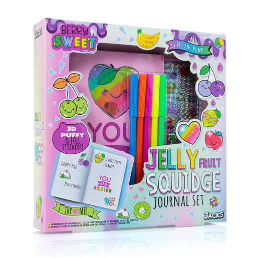 Jacks Jelly Fruit Squidge Journal Set