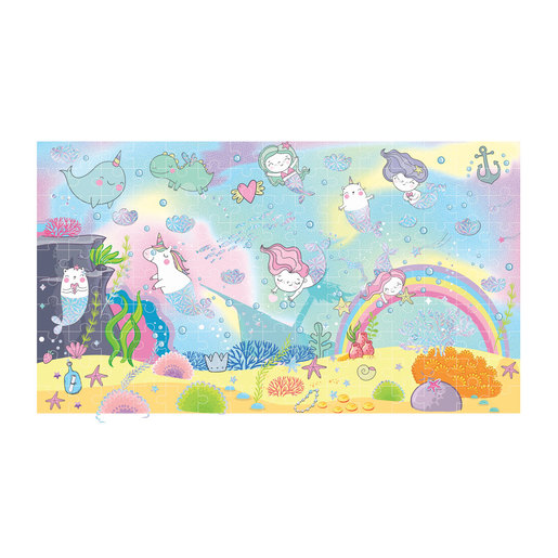 Jacks Sparkle and Glimmer Mermaid 150pc Puzzle