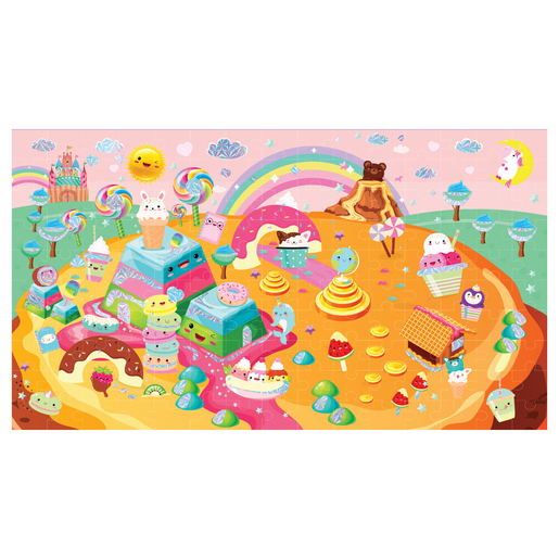 Jacks Sparkle and Glimmer Candy 150pc Puzzle