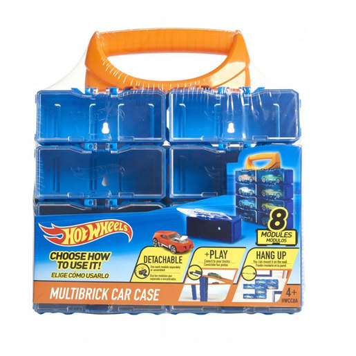 Hot Wheels Multibrick Car Case