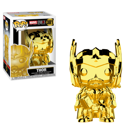 Funko Pop! Marvel: The First 10 Years - Thor (Chrome)