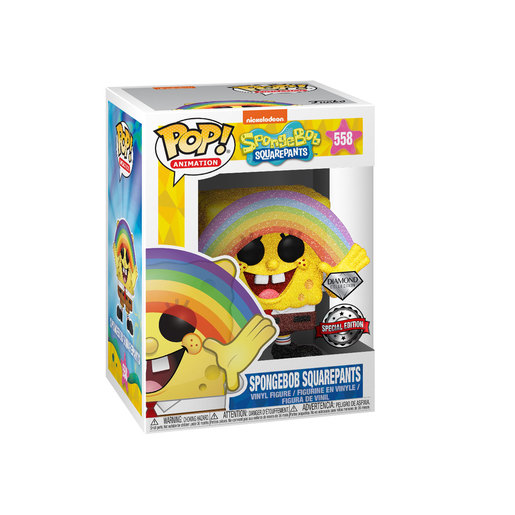 Funko Pop! Animation: SpongeBob SquarePants - SpongeBob SquarePants Rainbow (Diamond Collection)