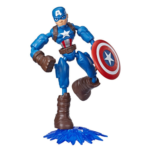 Bend and Flex Marvel Avengers Figure - Captain America