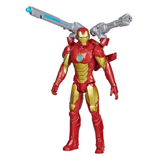 Marvel Avengers Titan Hero Series Blast Gear Figure - Iron Man
