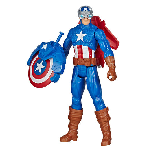 Marvel Avengers Blast Gear Titan Hero Series Figure - Captain America