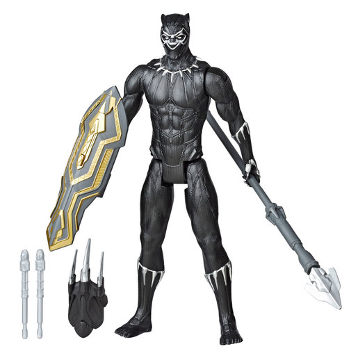 Marvel Avengers Titan Hero Series Blast Gear Figure - Black Panther