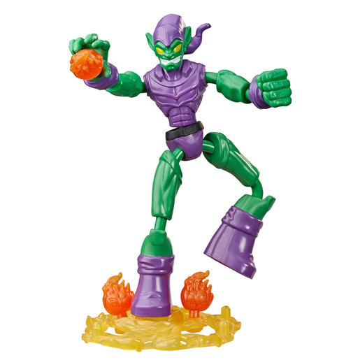 Marvel Spider-Man Bend and Flex Figure - Green Goblin