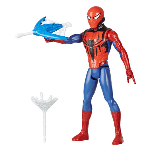 Marvel Spider-Man Titan Hero Series Blast Gear Figure - Spider-Man