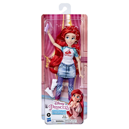 Disney Princess Comfy Squad Doll - Ariel