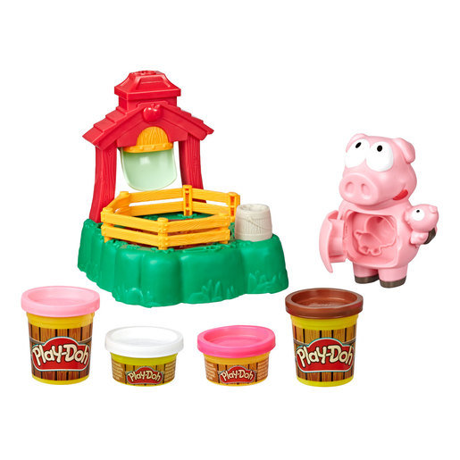 Play-Doh Animal Crew - Pigsley Splashin' Pigs