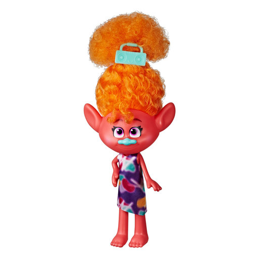 DreamWorks Trolls World Tour Stylin' Doll - DJ Suki