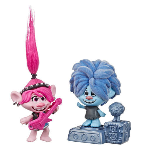 DreamWorks Trolls World Tour Techno Reef Bobble Figures