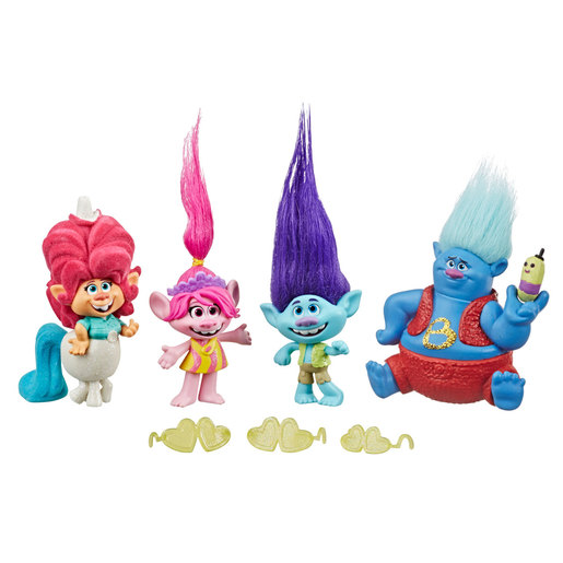 DreamWorks Trolls World Tour Lonesome Flats Tour Figure Pack