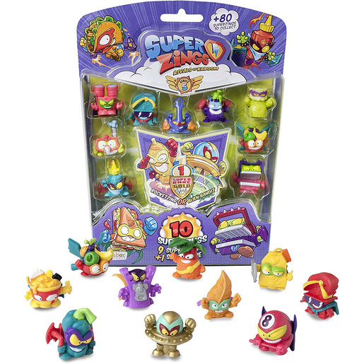 SuperZings Series 5 Blister 10 Figure Pack