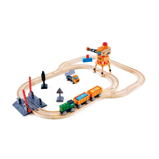 Hape Crossing Crane Set