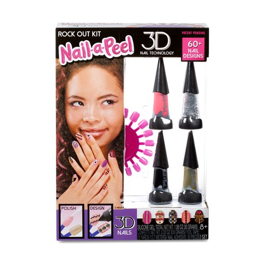 Nail-a-Peel 3D Nail Technology Set - Rock Out Kit
