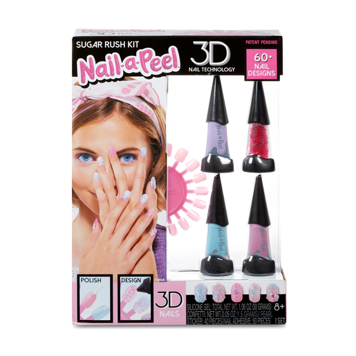 Nail-a-Peel 3D Nail Technology Set - Sugar Rush Kit