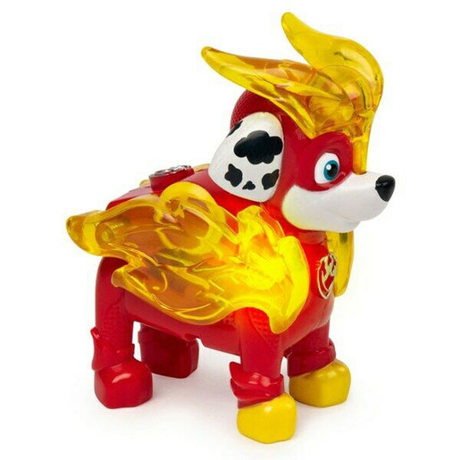 Paw Patrol Mighty Pups Charged Up Figure - Marshall