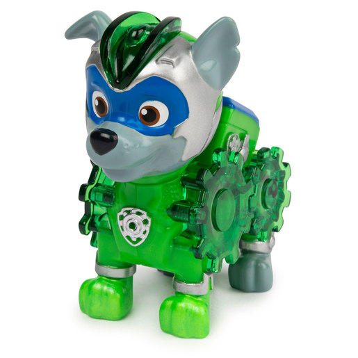 Paw Patrol Mighty Pups Charged Up Figure - Rocky