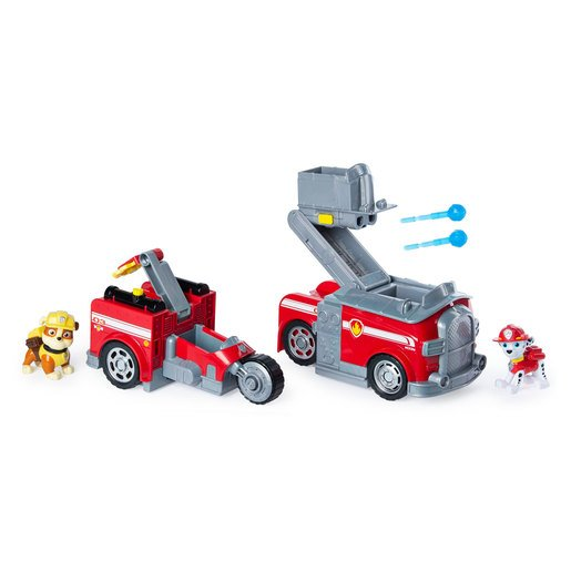 Paw Patrol Split-Second 2-in-1 Transforming Vehicle - Marshall
