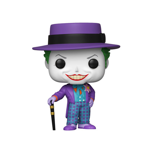 Funko Pop! Heroes: Batman - 1989 Joker with Hat (Styles Vary)