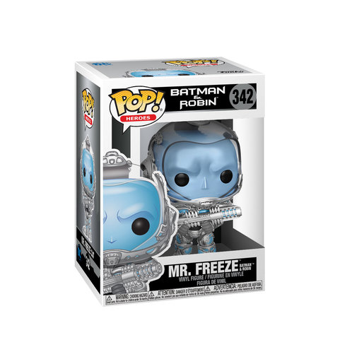 Funko Pop! Heroes: Batman & Robin- Mr. Freeze