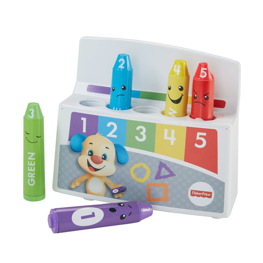 Fisher-Price Laugh and Learn Colourful Mood Crayons from TheToyShop